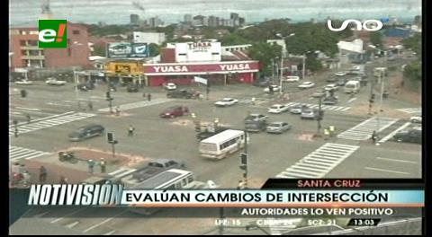 Buena aceptación en las modificaciones de la avenida Virgen de Cotoca y Guapay