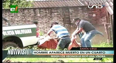 Vecinos encuentran a un hombre muerto dentro de su cuarto