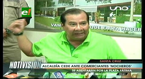 """Municipio cruceño y """"nocheros"""" llegan a un acuerdo"""