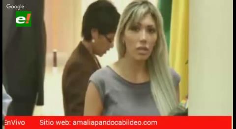 Gabriela Zapata revela que esperó dos hijos de Evo Morales