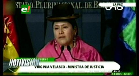 Caso Zapata: Ministra de Justicia afirma que León vulneró normas que protegen a niños y adolescentes