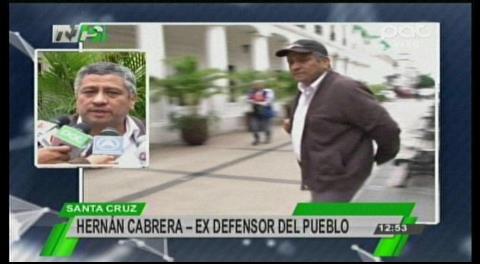 Santa Cruz: Representante del Defensor del Pueblo renuncia al cargo