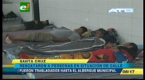 Abre el albergue transitorio en Santa Cruz