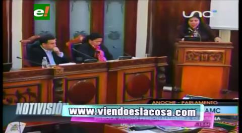 """Piérola a Quintana: """"No nos importa Zapata como chola de Evo o de usted, nos interesa es de cómo se enriquece"""""""