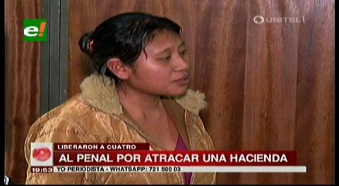 Dueña de hacienda involucrada en robo de ganado es enviada a la cárcel