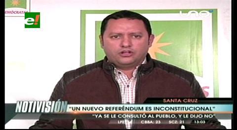 """Diputado Dorado: """"El pueblo ya dijo NO; el presidente debe respetar la voluntad popular y dedicarse a trabajar"""""""