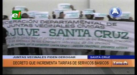 Fejuve exige derogar decreto que incrementa tarifas de servicios básicos