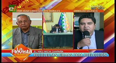 Cárdenas desconfía del TCP en el caso de un nuevo referendo
