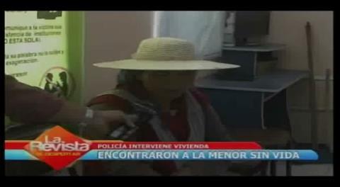 Policía investiga posible caso de infanticidio en Cochabamba
