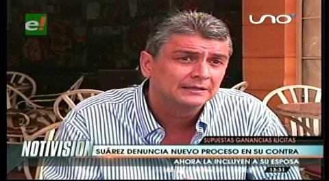 Ernesto Suárez denuncia nuevo proceso en su contra