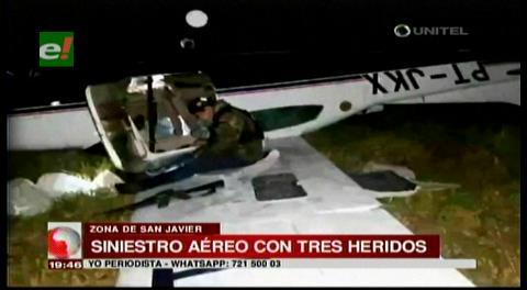 Surgen varias hipótesis con los heridos de la avioneta en San Javier