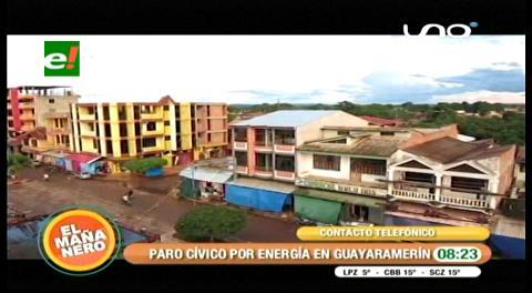 Beni. En Guayaramerín, bloquean desde hoy por electricidad