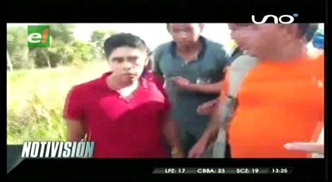 Militar armado intentó desbloquear la carretera en Guayaramerín