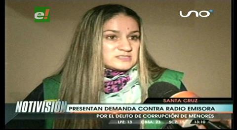 Defensoría de la Niñez demanda a radio emisora por corrupción de menores