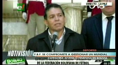 FBF se compromete a gestionar con 'tenacidad' un mundial en Bolivia