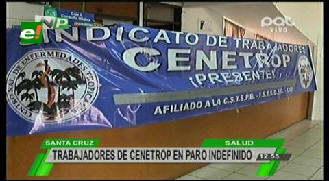 Trabajadores de Cenetrop ingresan en huelga de hambre