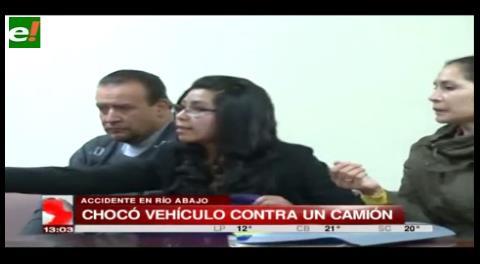 La Paz. Imputan al director del Segip por conducir y chocar en estado de ebriedad