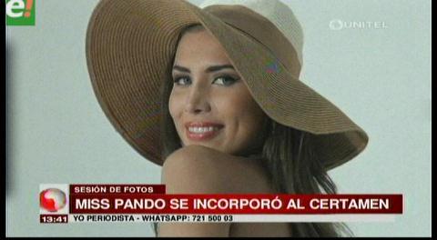 Conoce a Stephany Sánchez, Miss Pando 2016