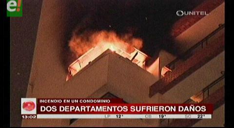 Santa Cruz. Evacuaron un edificio por incendio