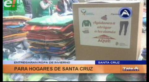 Santa Cruz. Entregarán ropa de invierno para centros de rehabilitación