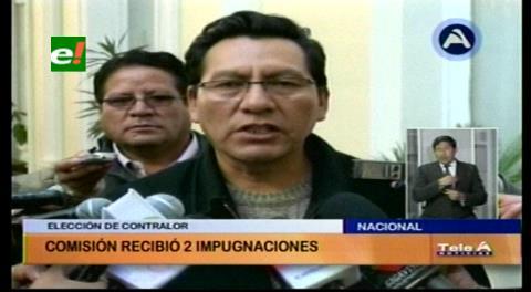 Comisión legislativa recibe dos impugnaciones en proceso de preselección de Contralor