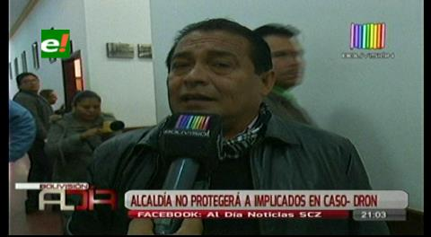 Concejal Pórcel asegura que la Alcaldía no protegerá a implicados en el caso dron