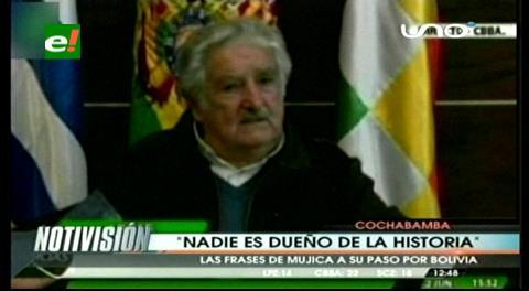 """Mujica: """"Nadie debe creerse dueño de la historia y que ganó para siempre"""""""