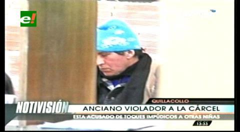 En Quillacollo aprehenden a un anciano acusado de violación