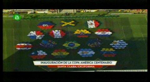 Asi fue la inauguración de la Copa América Centenario 2016