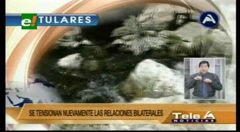 Titulares de TV: Equipo jurídico para defender el Silala ante demanda de Chile ya está conformado