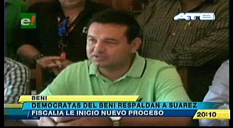 Demócratas apoyan a ex gobernador Suárez y a su esposa investigados por la Fiscalía