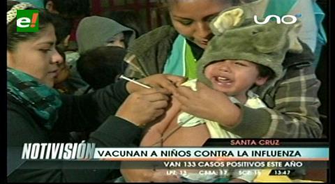 Santa Cruz: Movilizan brigadas de vacunación contra la influenza en la ciudad