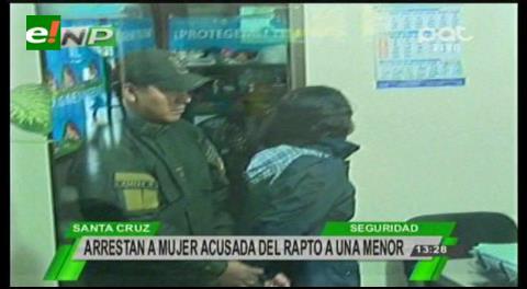 Detienen a una mujer en la Bimodal, es acusada de rapto a una menor