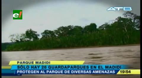 Mercurio contamina ríos del parque Madidi