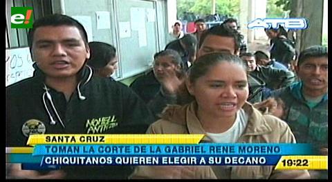 Estudiantes de la FACHI exigen elegir autoridades