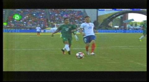Resumen del primer tiempo: Bolivia 0-0 Chile