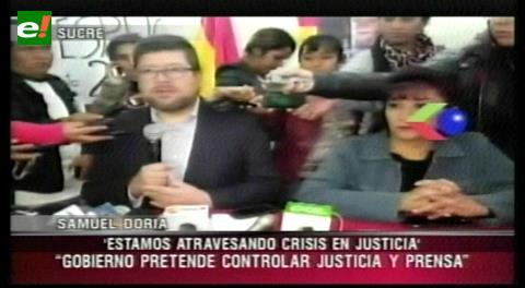 Doria Medina y esposa de León cuestionan Cumbre de Justicia porque se da en medio de la injusticia