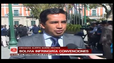 Aumento de penas en Bolivia infringiría convenciones internacionales acordadas, según analista