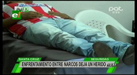 Adolescente es herido en una balacera entre narcotráficantes