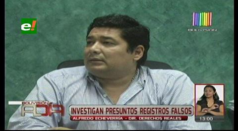Santa Cruz: Investigan presunta manipulación en Derecho Reales