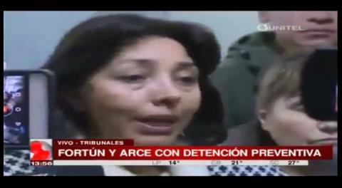 Caso Zapata: Fortún afirma que su detención ya estaba dictada antes de la audiencia