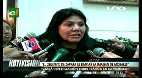 Pierola asegura que Zapata busca limpiar la imagen de Quintana y Morales