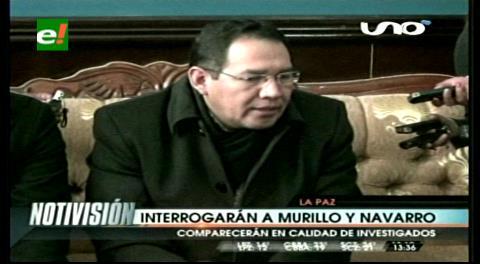 Caso Zapata: Fiscal general confirma que se convocará a declarar a Murillo y Navarro