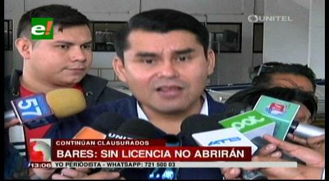 Municipio cruceño asegura que no abrirán las rockolas hasta que se regularicen