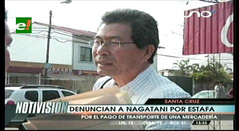 Denuncian a Nagatani por estafa