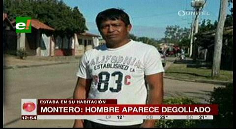 Encuentran a hombre degollado en su habitación en el municipio de Montero