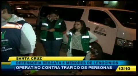 6 menores fueron rescatados de lenocinios