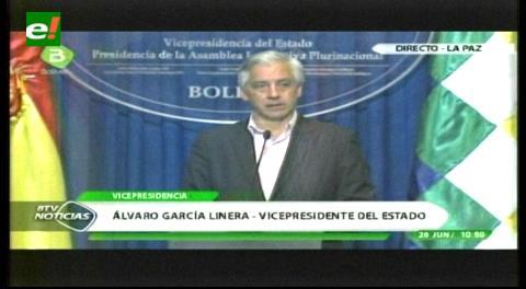 García Linera pide indagar pederastia en la Iglesia