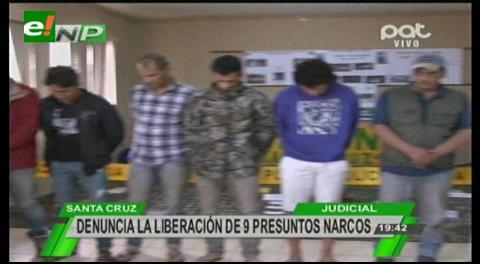 Juez libera a sospechosos de traficar químicos