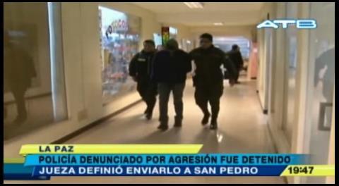 Policía acusado de violación fue enviado al penal de San Pedro